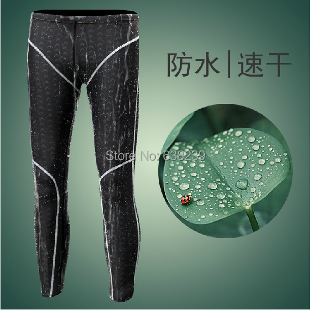 sharkskin font b water b font repellent men s long racing swimming pants swim trunks font