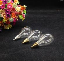 Buy glass dome necklace supplies and get free shipping on aliexpress 100pcs 3018mm water drop glass blub bulb shape wish vial pendant globe bubble charm aloadofball
