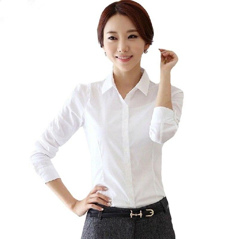 Plumas Manga Larga Oficina Blusa Señoras Verano Tamaño 4 Blanco 2 Collar Mujeres Las Femeninas 5xl 3 Blusas Más Camisas De Abrigos Gasa 1 XxU8Fn8Y