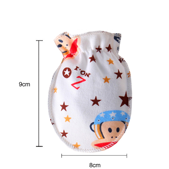 3Pairs lot baby gloves 0 6 months cartoon cotton baby mittens newborn teething boys girls baby accessories care winter summer in Gloves Mittens from Mother Kids