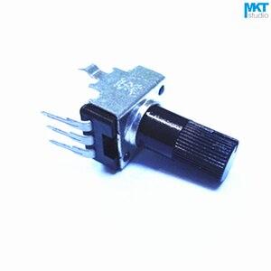 500 шт 1 K/10 K/100 K/50 K/500 K Ohm B Тип Линейный 12 мм вал правый угол роторный контакт потенциометра Триммер (B102/B103/B104/B503/B504)