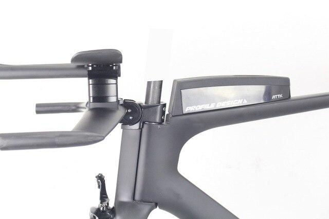 Aero triathlon carbone tt cadre 2020 miracle vélos 700c carbone cadre de vélo BICICLETA 49/52/54/56/59cm cadre de contre-la-montre en carbone