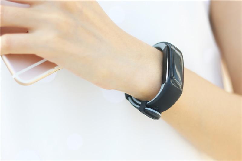 Новый бренд uniqboom смарт браслет с цветным дисплеем фитнес
