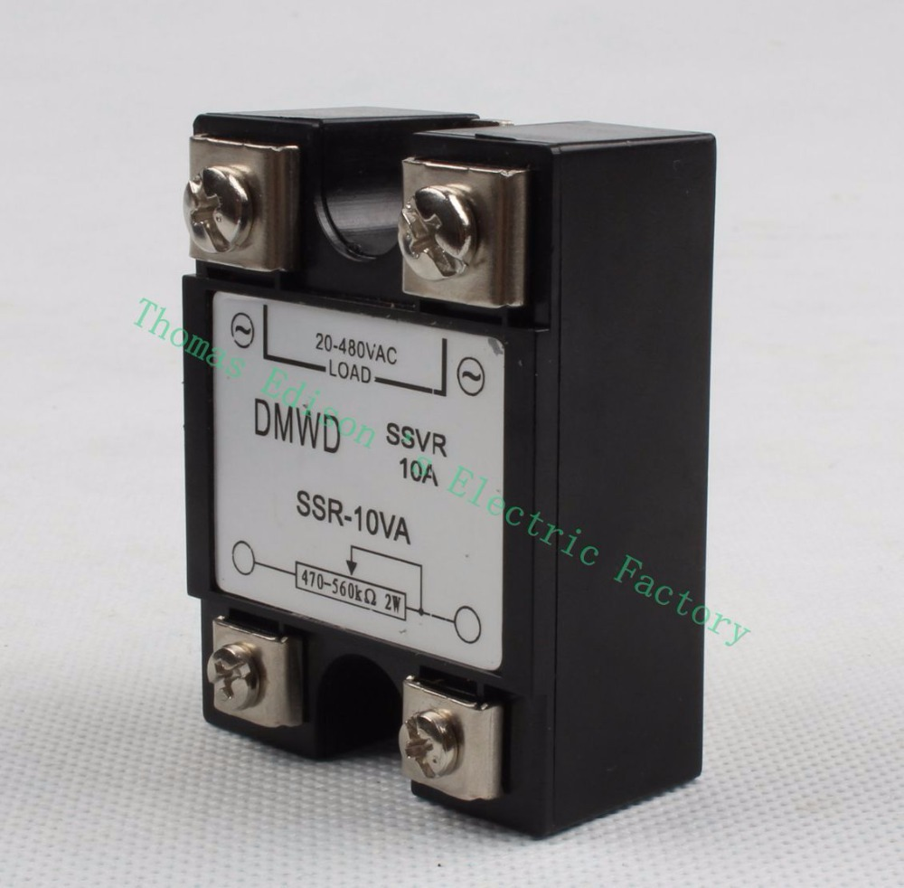 Top Brand Dmwd Solid State Relay Voltage Resistance Regulator Ssr German 10va Catually 470 560k Ohm 2w To 20 480v Ac In Relays From Home Improvement On