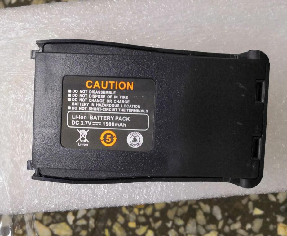 20pcs lot Original Baofeng 7 4V 1500mah BF 777S BF 666S BF 888S Battery adapter for