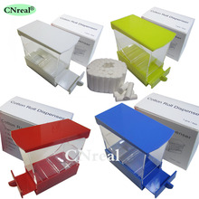 1 pc Dental Cotton Roll Dispenser & 50 pcs Drawer-type Teeth Whitening (4 Colors)