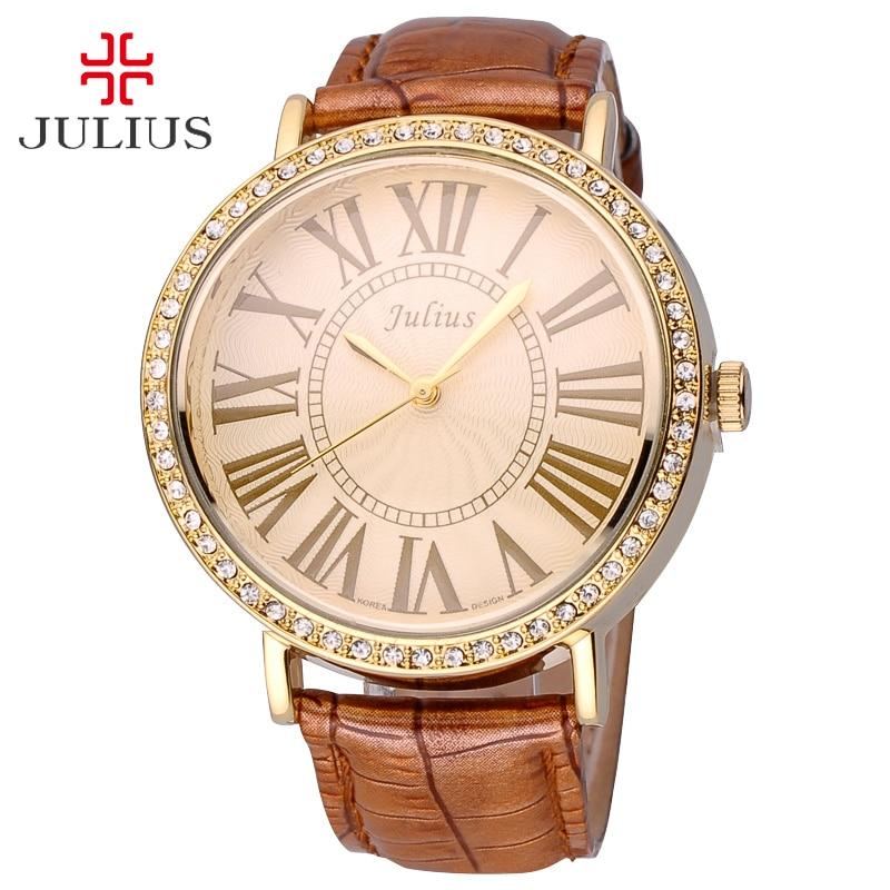Ladies Wrist Watch Quartz Hours Best Fashion Dress Korea Bracelet Brand Women Leather Christmas Multi colors