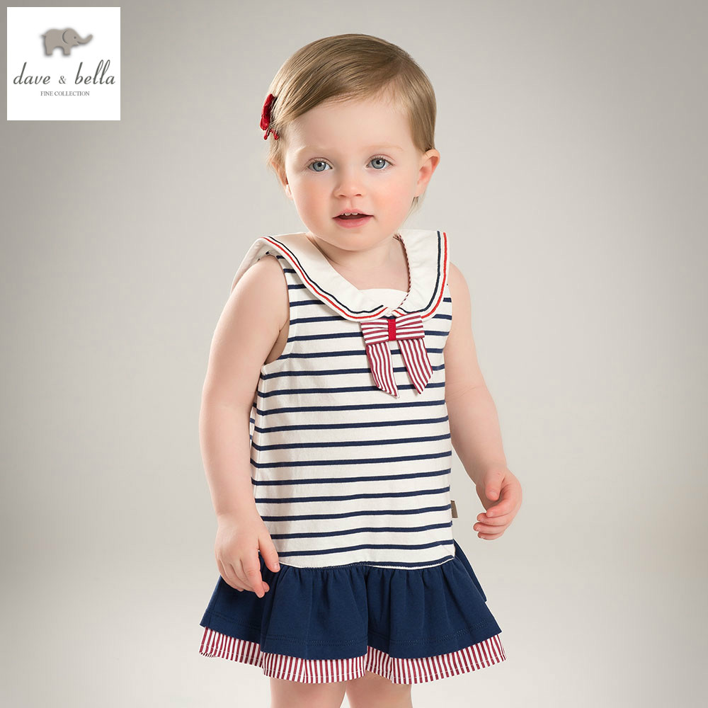 DB4922 dave bella summer baby girl princess dress child preppy dress kids toddle dress children dress kids birthday clothes db5498 dave bella baby girl lolita dress stylish printed peter pan collar dress toddler children dress