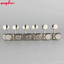 GUYKER – accordeurs de cordes de guitare électrique en Nickel/Chrome, Vintage, têtes de Machine, accordeurs pour chevilles de réglage de guitare ST TL