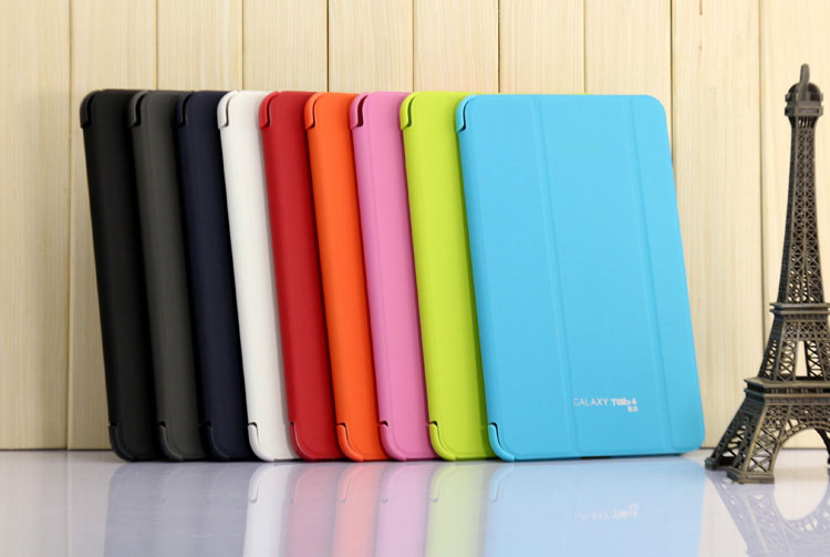 3 in 1 Business Book Cover Smart Case For Samsung Galaxy Tab Pro 8.4 T320 T325 + Stylus pen + Screen Film