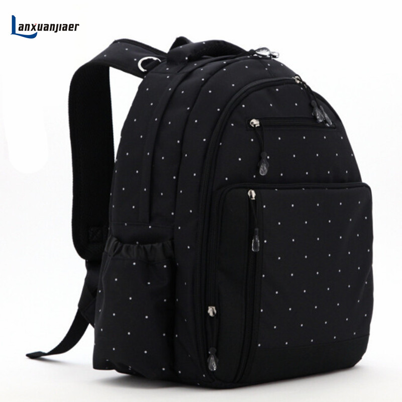 Lanxuanjiaer Mummy bag backpack nappy bag baby diaper bags Multifunctional mommy maternity Large capacity bag baby care product insular new large capacity multifunctional mummy backpack nappy bag baby diaper bags mommy maternity bag babies care product