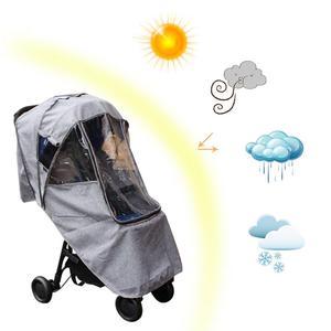 Image 3 - Bebek arabası yağmurluk kapak arabası şemsiye araba yağmur kılıfı bebek arabası cam arabası aksesuarları arabası aksesuarları