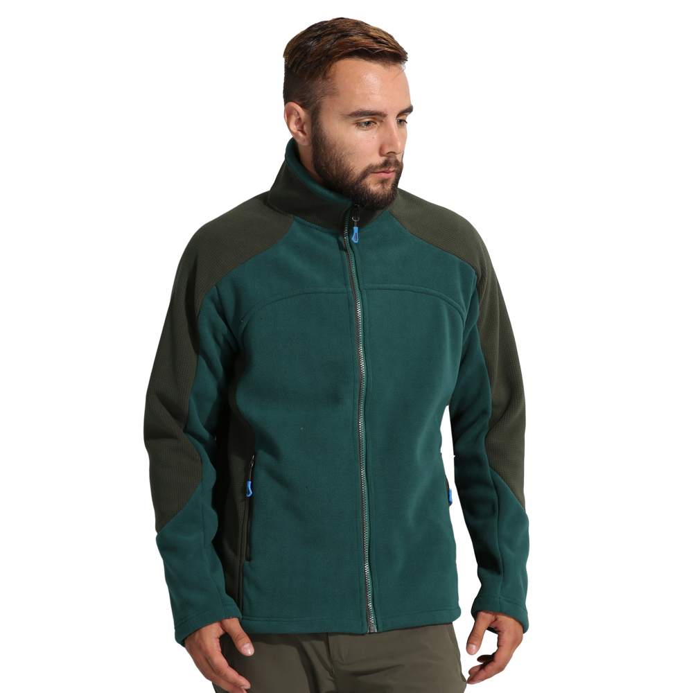 New Men Soft Coat Outdoor Fleece Jackets Winter and Autumn Hiking Jacket Male Camping