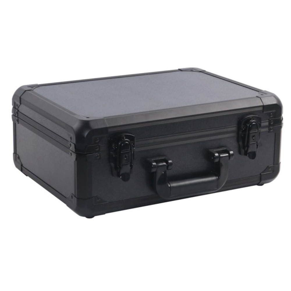 Aluminium Alloy Drone Carrying Box Black Handheld Hard Shell Storage Case Portable Suitcase For DJI MAVIC AIR waterproof hard shell backpack storage box carrying case suitcase silver for dji mavic air fly more combo rc drone fpv