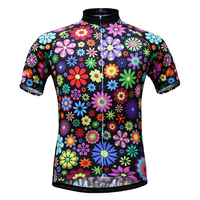 2017 Summer Women S Cycling Jersey Quick Dry Short Sleeve Cycling Clothing Cycle Wear With
