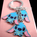 Stitch keychain cute cartoon key ring christmas gift innovative chaveiro portachiavi high quality key chain llaveros mujer