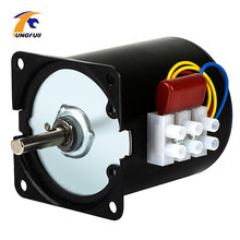 220V synchroniczny AC motoreduktor 68KTYZ 68-KTYZ 28W synchroniczny z magnesami trwałymi motoreduktor 220V 2.5 5 10 15 20 30 40 50 60 obr/min
