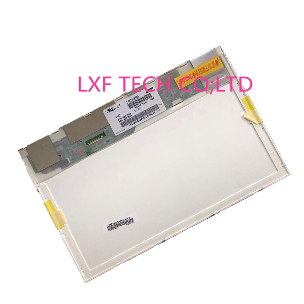 FOR lenovo thinkpad t400 r400 notbook replacement screen 1440*900 40pin 14.1LCD matrix LTN141BT04 LP141WP2-TLB1 LP141WP2 TLB1