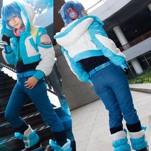 Image 1 - Anime Dramatical Murder Cosplay Costume DMMD Seragaki Aoba Jacket High Quality Coat Custom made Any Size