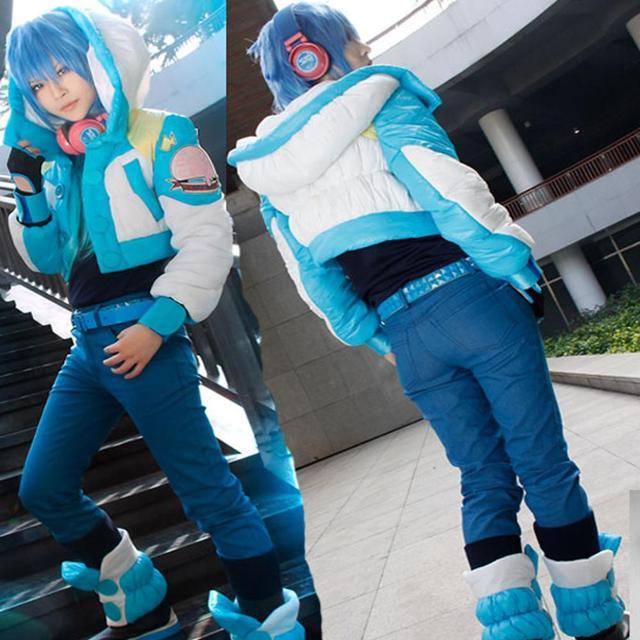 Anime Dramatical Murder Cosplay Costume DMMD Seragaki Aoba Jacket High Quality Coat Custom made Any Size
