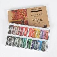 Bgln Oil Pastels Set 24 36 48 60Colors Round Shape Oil Pastels Crayon Sticks Drawing Pen