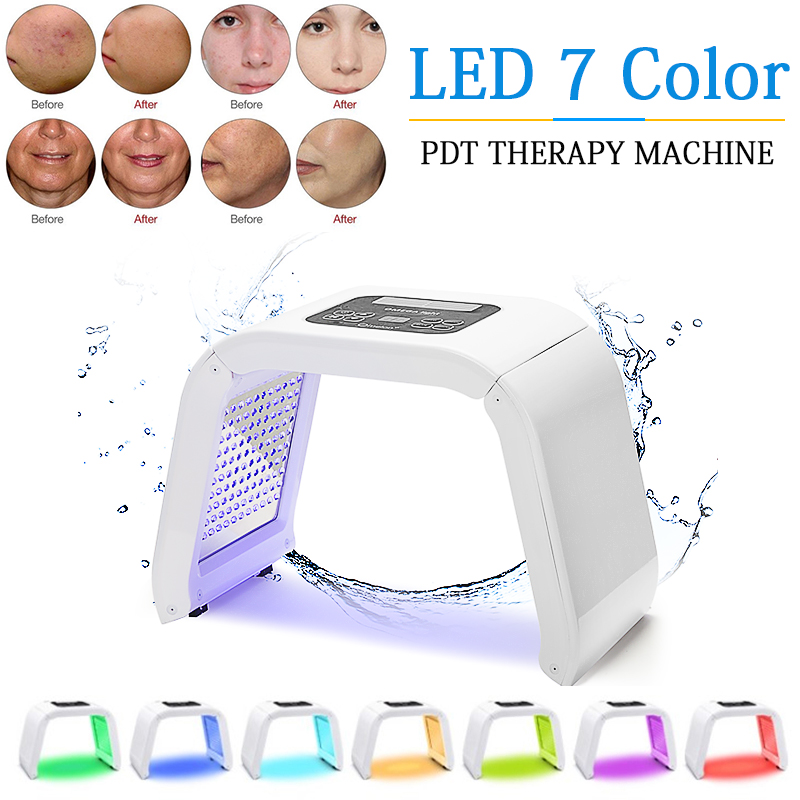 Professional PDT Led Mask Beauty Family 7 Color Led Light Therapy Lamp Face Whitening Skin Rejuvenation Acne Anti-wrinkle SpaProfessional PDT Led Mask Beauty Family 7 Color Led Light Therapy Lamp Face Whitening Skin Rejuvenation Acne Anti-wrinkle Spa