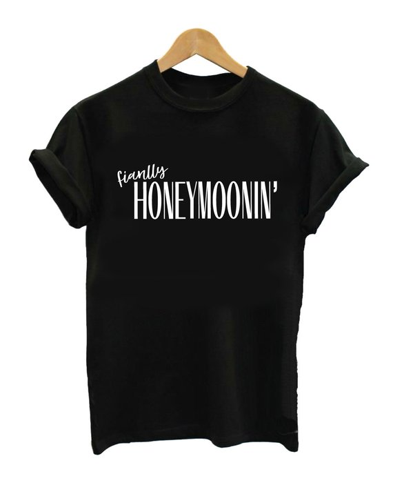 Husband and wife t-shirt hubby and wifey t-shirt honeymoon ideas