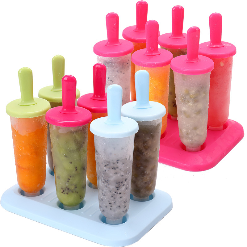 1Set Evdə Dondurma Popsicle Kalıp Yaradıcı Yay Dondurma qutusu - Mətbəx, yemək otağı və barı - Fotoqrafiya 2