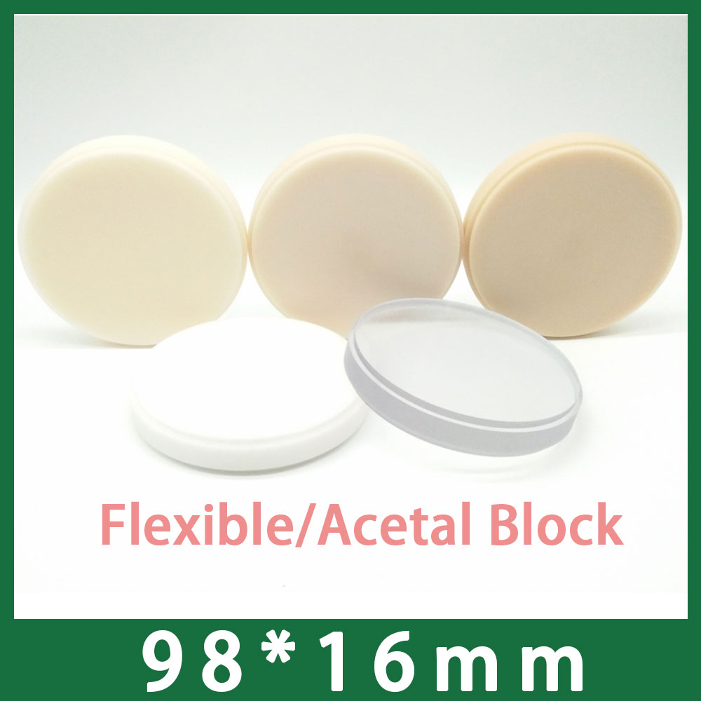 1pcs 16mm Thich Dental Acetal Disc Laboratory Material for Open CADCAM System1pcs 16mm Thich Dental Acetal Disc Laboratory Material for Open CADCAM System