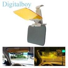 Car Sun Visor HD Car Antiglare Dazzling Goggle Day Night Vision Driving Mirror UV Fold Flip Down HD Clear View Visor