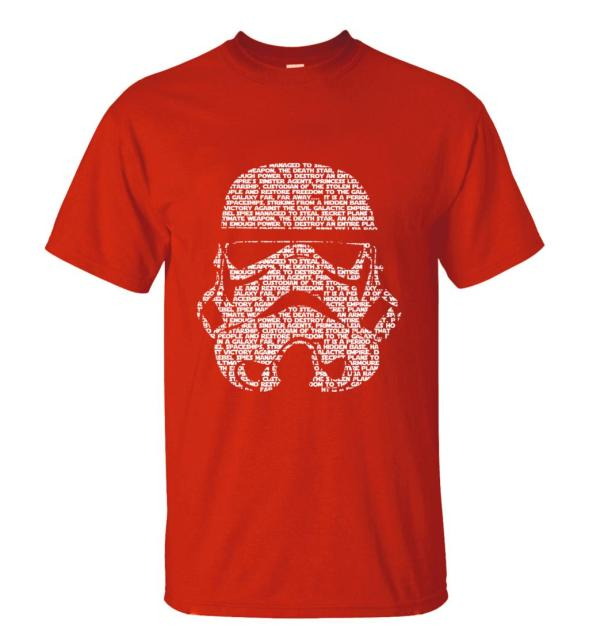 Star Wars Men T-Shirt – Trooper Face