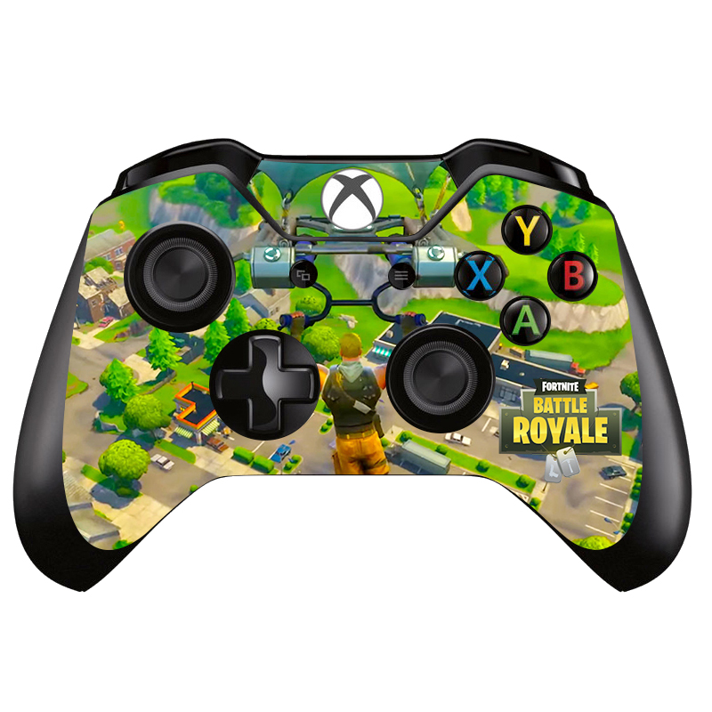 Game Fortnite Vinyl Skin Sticker Cover For XBOX ONE Gamepad Decal Controller Accessories