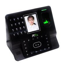Новая версия ZMM220 распознавание лица работник время лица часы Iface 102 двойная камера лица отпечатков пальцев бесплатное программное обеспечение