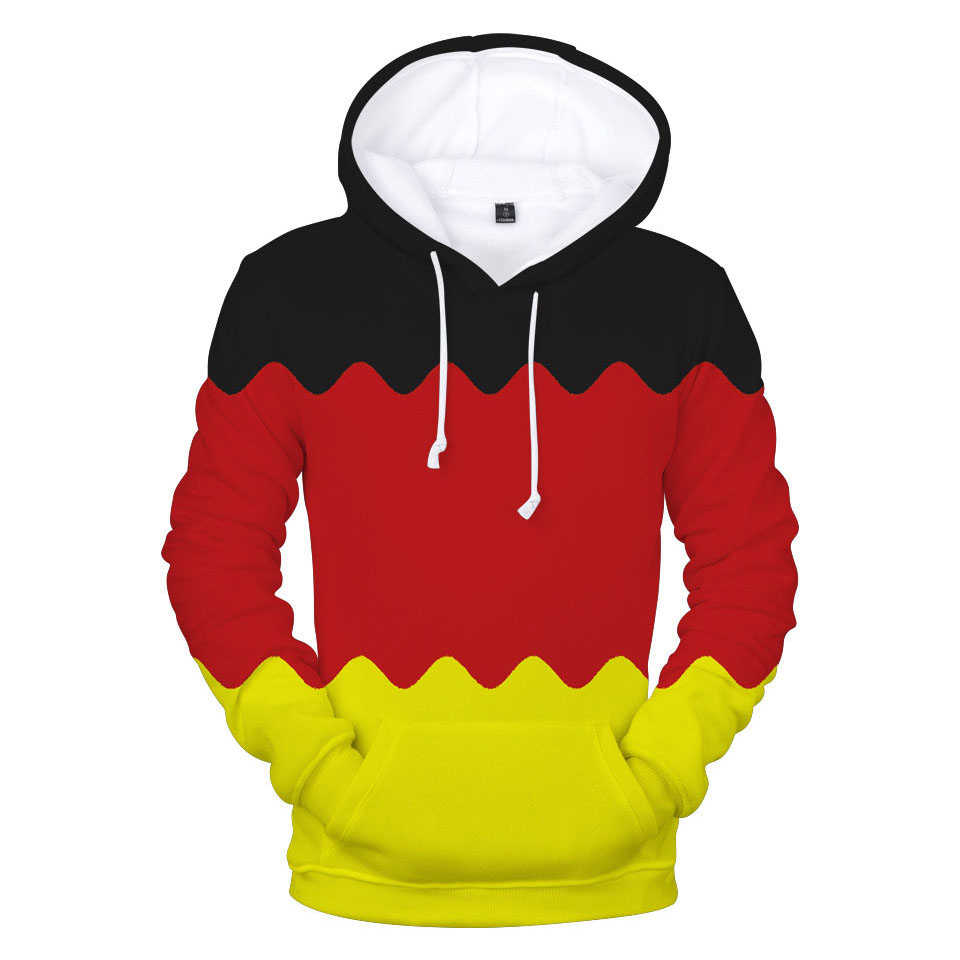 funny design Germany Flag fashion sport 3d hoodies pullover men women Hoodie hoody tops casual Long Sleeve 3D Hooded Sweatshirts