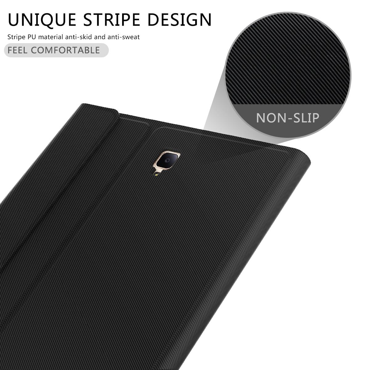 תאורה אחורית עבור Samsung Galaxy Tab 10.5 A2 T595 T590 להפרדת Tablet Bluetooth עם תאורה אחורית אלחוטי עור מקלדת המקרה הייחודי Stripe (2)