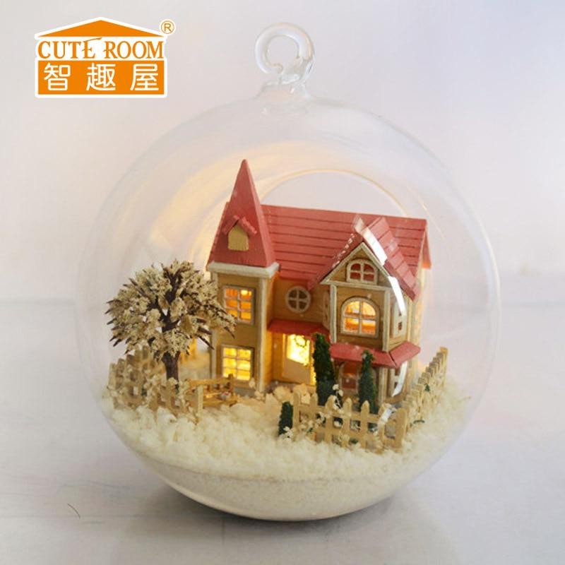 Милая комната Diy Кукольный дом для кукол, игрушки для детей, деревянный дом для девочек, Casas De Munecas De деревня-lolita Dream Home