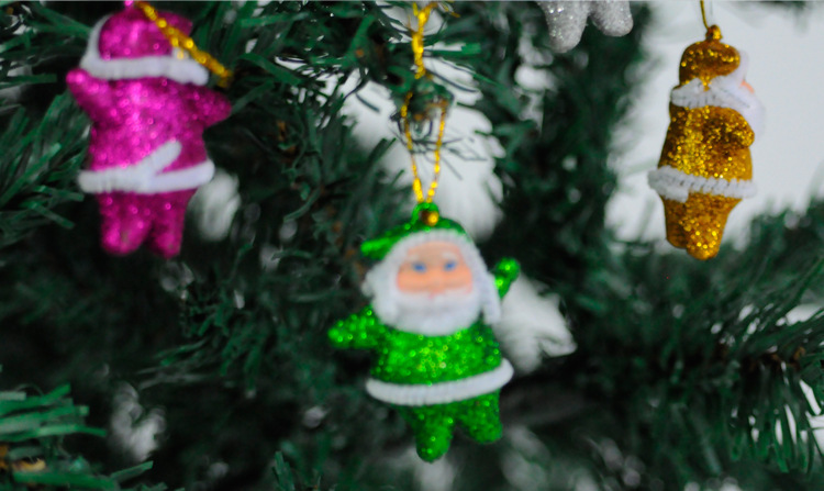 Funny Christmas Tree Decorations Part - 33: Funny Christmas Tree Ornament Decorations Santa Claus Pendant Indoor (18  Pcs) New Year Party Hanging Festa Natal Decoration-in Pendant U0026 Drop  Ornaments From ...