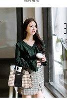 2018 New PU lady bag pattern killer bag Korean version of the woman's hand mother bag trend slant shoulder bag