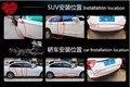 10 M HOT etiqueta do carro proteção Porta tira de borracha PARA peugeot 106 207 a1 audi fiat 500 mazda cx 5 hyundai tucson 2016 acessórios