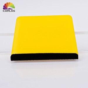 Image 1 - 7.5*11cm אוטומטי מוצרים ויניל רכב לעטוף רך 99 הרגיש קצה מגרד הרגיש מגב רכב מדבקות מדבקות לעטוף המוליך ניקוי כלים