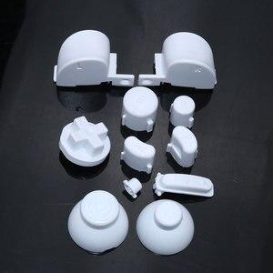 Image 5 - ChengHaoRan 10X pełny zestaw L R ABXY Z przyciskami klawiatury dla GameCube kontroler do gier nasadka na dżojstik dla NGC D Pads przycisk włączania i wyłączania