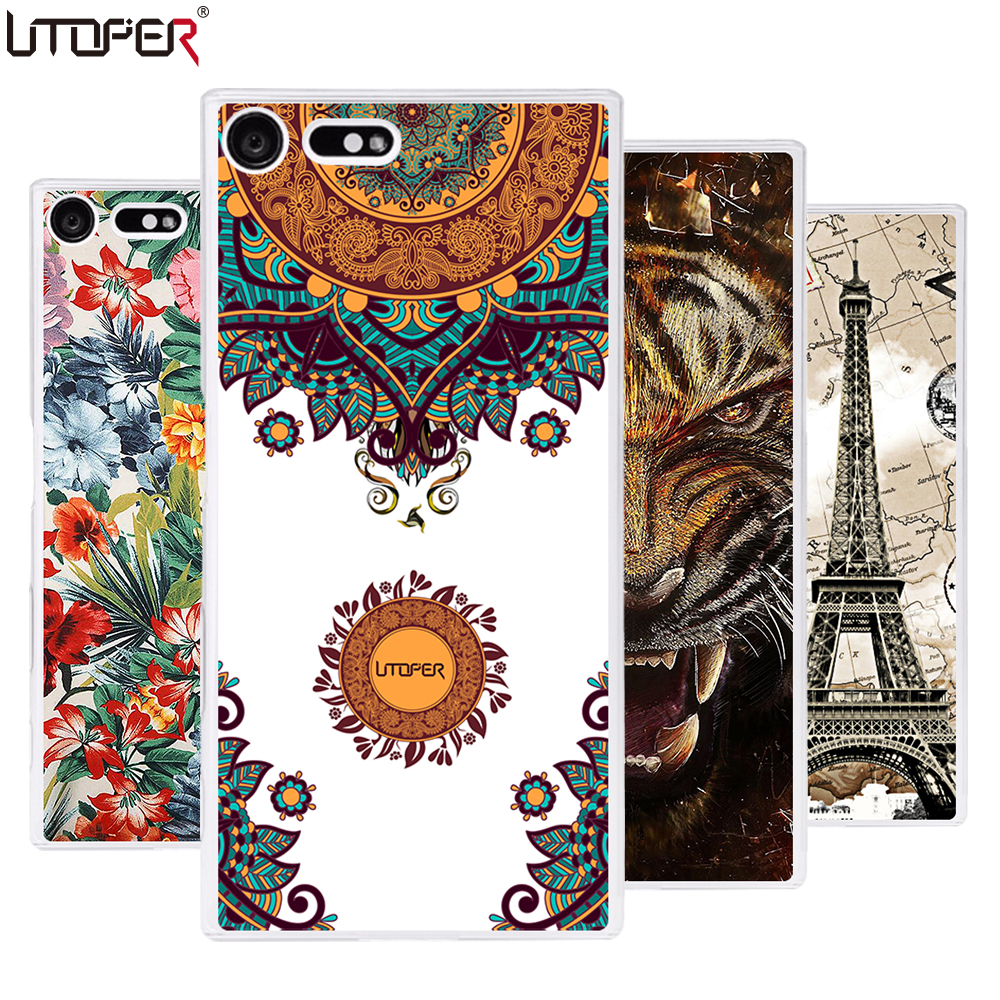 Personalized DIY Case For Sony Xperia X Compact F5321 4.6 Space Pattern Soft Silicone Cover TPU Phone Cases For Sony X Compact