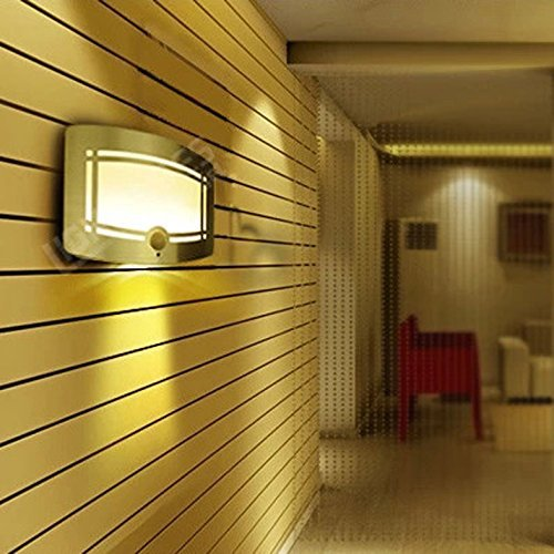 GoesWell LED Night Light Warm White Battery Powered Motion Sensor ...