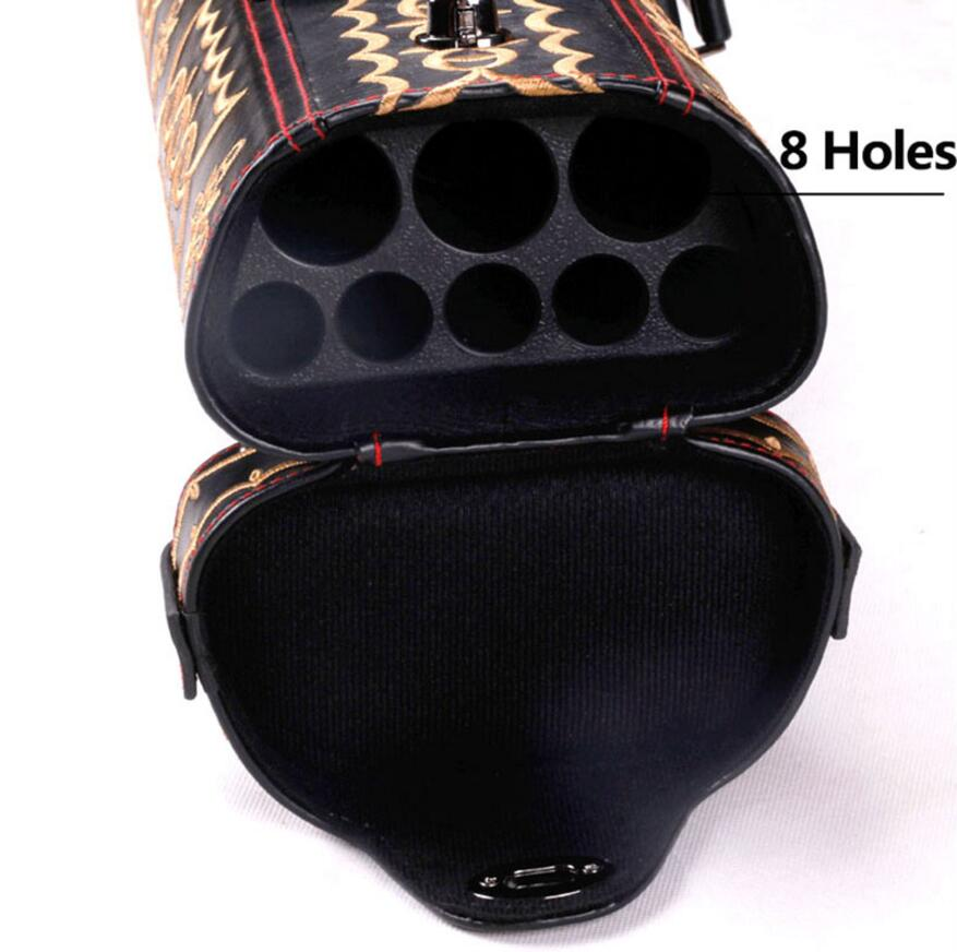 Cuppa New Arrival Professional Hand woven Cuppa Billiard Pool Cues Case 6 8 Holes Two Options Billiard Accessories China 2019 in Snooker Billiard Accessories from Sports Entertainment