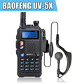 Versão Atualizada do UV-5R BAOFENG UV-5X Original UHF + VHF Rádio em Dois Sentidos Walkie Talkie W/Placa Principal Original P0015842