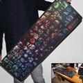 2017 Nuevo Diseño Simple Velocidad DOTA 2 Juego MousePads Computer Gaming Mouse Pad Gamer tapices de Juego Versión Mousepad