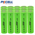 20Pcs PKCELL AA Rechargeable Battery Ni-MH 1200mAh 1.2V NiMH Industries Rechargeable Batteries Bateria For Flat Top