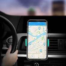 Car Phone Holder For iPhone 8 X XS XR 7 Air Vent Mount Car Holder 360 Degree Mobile Phone Holder For Samsung Xiaomi Holder Stand(China)