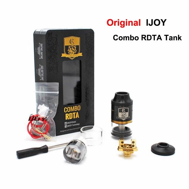 Оригинал iJoy Combo RDTA RDA RTA Югу Ом Бак 6.5 МЛ электронная сигарета Форсунки Сторона Заполнения Системы IMC2 IMC3 Палубе испаритель