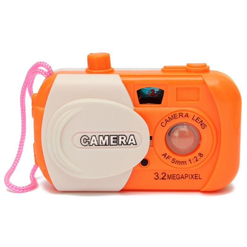 3.3*1.6/8.5*5CM Creative Kids Projection Simulation Camera Intellectuall Toys Children Learning Study Toy Wholesale